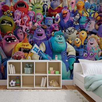 Disney Monsters Inc Wallpaper Mural