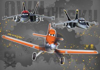 Disney Planes Wallpaper Mural