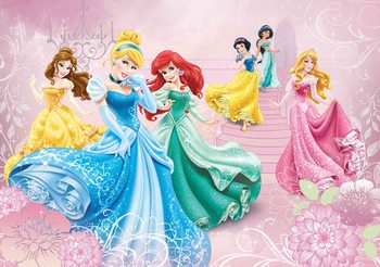 Disney Princesses Cinderella Aurora Wallpaper Mural