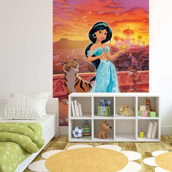 Disney Princesses Jasmine Wallpaper Mural