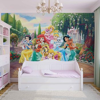 Disney Princesses Rapunzel Ariel Wallpaper Mural