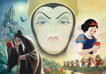 Disney Snow White Good Bad Queen Wallpaper Mural