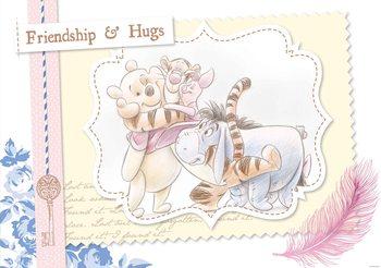 Disney Winnie Pooh Piglet Tigger Eeyore Wallpaper Mural