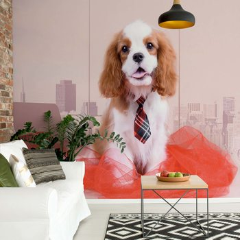 Dog Wallpaper Mural