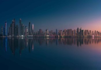 Dubai Marina Skyline Wallpaper Mural