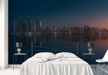 Dubai Marina Skyline Wallpaper Mural