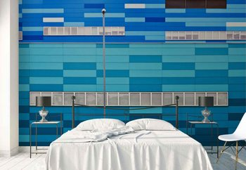Fifty Shades Of Blue Wallpaper Mural