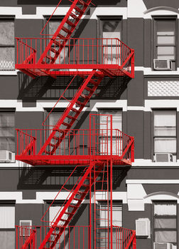 FIRE ESCAPE Wall Mural