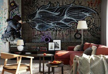 Fire! Wallpaper Mural