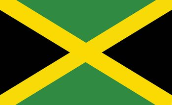 Flag Jamaica Wallpaper Mural