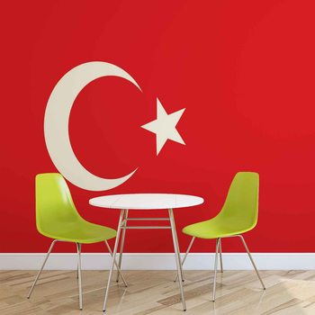 Flag Turkey Wallpaper Mural