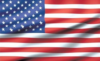 Flag United States USA Wallpaper Mural