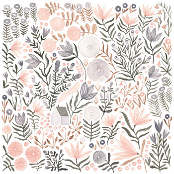 Wallpaper Mural Flower Field 05
