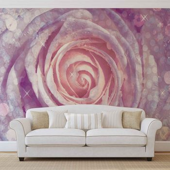 Flowers Rose Nature Wallpaper Mural