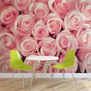 Flowers Roses Wallpaper Mural