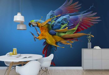 Flying Colours Wallpaper Mural
