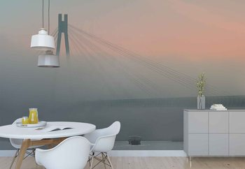 Foggy Vision Wallpaper Mural