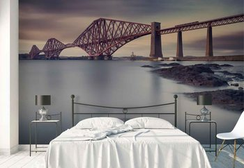 Forth Rail Bridge Wallpaper Mural