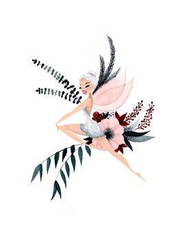 Wallpaper Mural Frozen Fairy 01