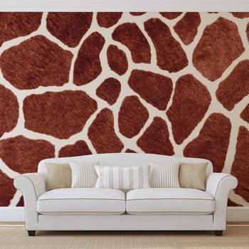 Giraffe Abstract Wallpaper Mural