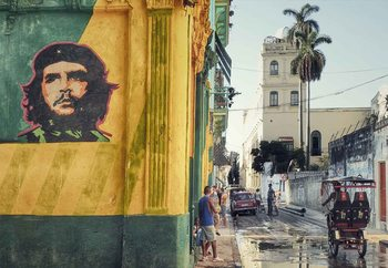 Grafitti En La Habana Vieja Wallpaper Mural