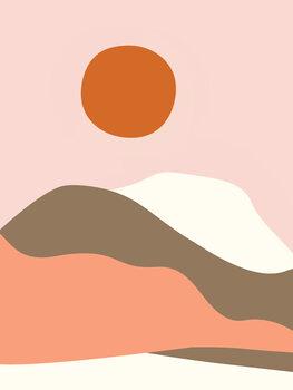 Wallpaper Mural Graphic Desert
