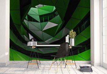 Green Offices Wallpaper Mural