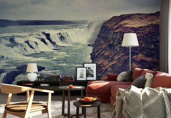 Gullfoss Wallpaper Mural