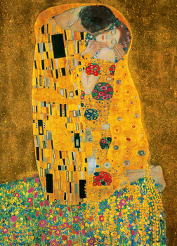 GUSTAV KLIMT - The Kiss, 1907-1908 Wall Mural
