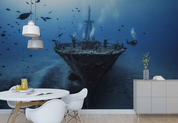 Hai Siang Wreck Wallpaper Mural