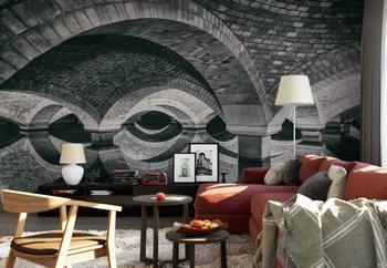 Hidden Face Wallpaper Mural