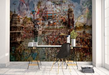 Holy India Wallpaper Mural