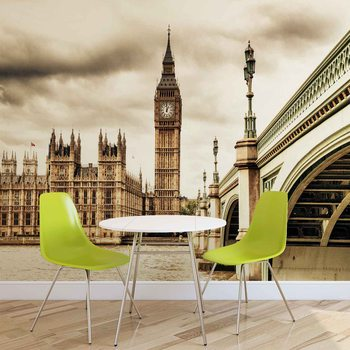 Houses of Parliament City Wallpaper Mural