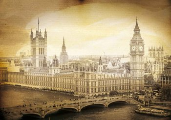 Houses Of Parliament Wallpaper Mural