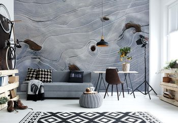 Ice Structures Wallpaper Mural