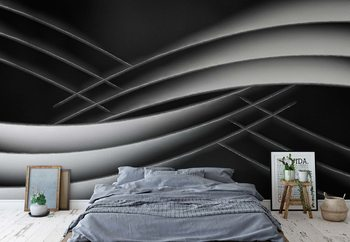 Interlaced Wallpaper Mural