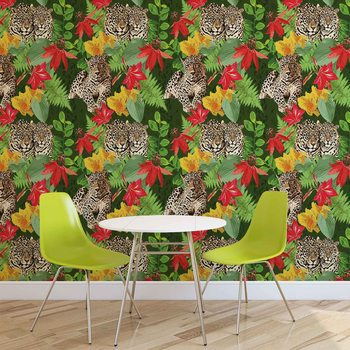 Jungle Cheetah Wallpaper Mural