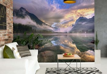 Lake Hintersee Wallpaper Mural
