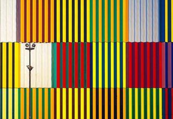 Light And Coloured Verticals Wallpaper Mural