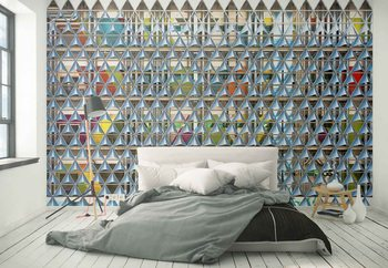 Look Sharp Wallpaper Mural