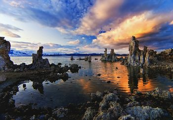 Magical Mono Lake Wallpaper Mural