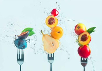Making Fruit Salad Wallpaper Mural