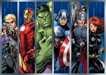 Marvel Avengers 368x254 cm - 115g/m2 Paper Wallpaper Mural