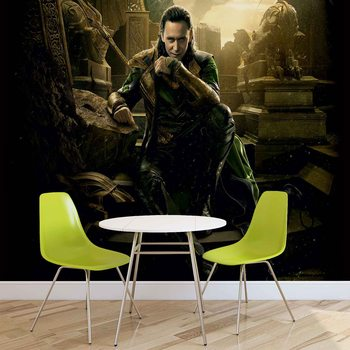 Marvel Avengers Loki Wallpaper Mural