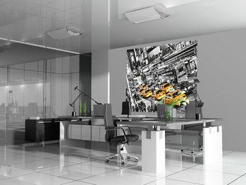 MICHAEL FELDMANN - cabs queue Wallpaper Mural