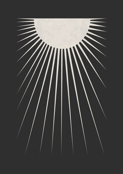 Wallpaper Mural Minimal Moon