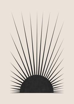 Wallpaper Mural Minimal Sun
