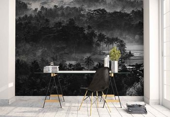 Mist In The Morning Wallpaper Mural