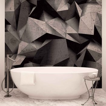 Modern Abstract Geometric Art Wallpaper Mural