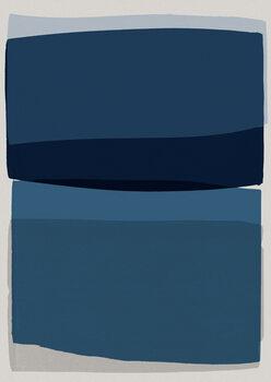 Wallpaper Mural Modern Blue